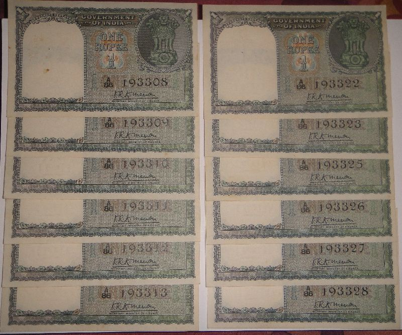 Rupee Note Image Images One Rupee Notes Please