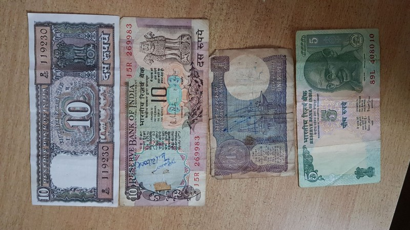 old currency notes with 786 digits and other for sale - Rice Puller